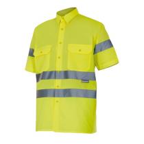 Camisa de alta visibilidad de manga corta VELILLA