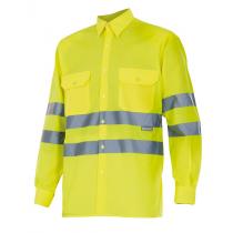 Camisa de alta visibilidad de manga larga