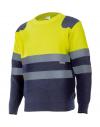 Jersey de punto bicolor de alta visibilidad