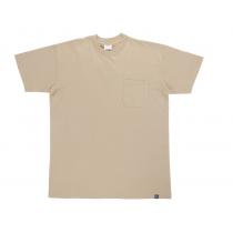 Camiseta unisex de manga corta con bolsillo(10unid)