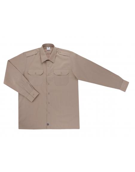 Camisa uniforme manga larga