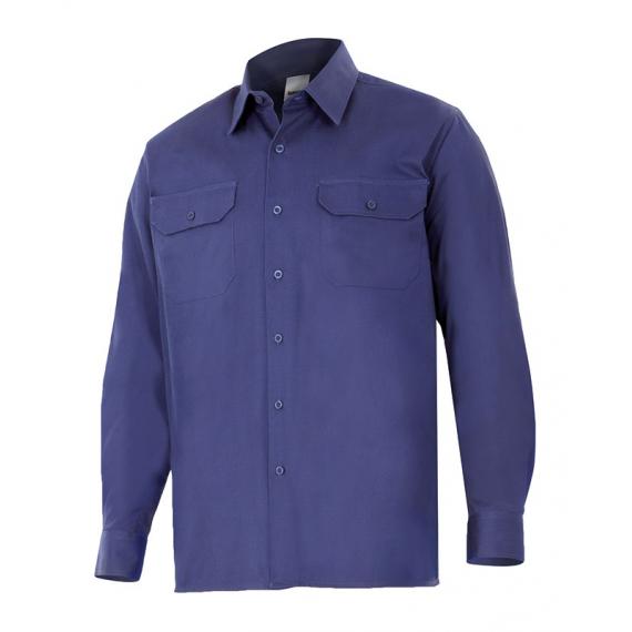Camisa de algodón de manga larga