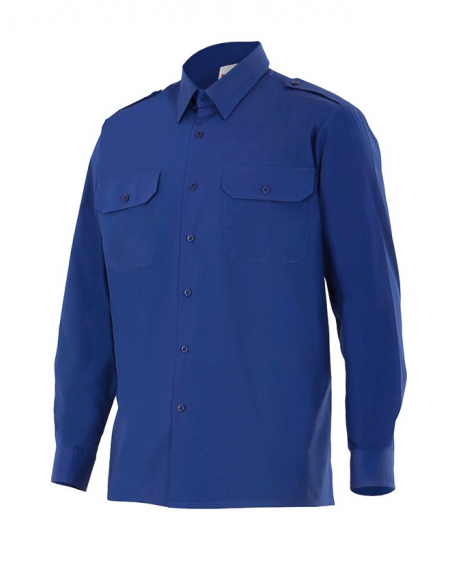 Camisa de algodón manga larga
