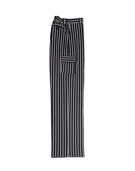 Pantalón de cocinero rayas VELILLA OREGANO