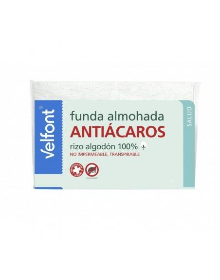 Funda Almohada Velfont ANTIÁCAROS