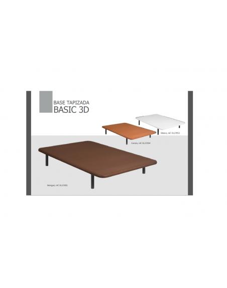Base tapizada 3D transpirable