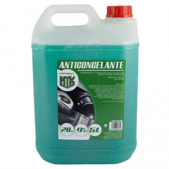 Anticongelante, 5L, 20 %, Verde