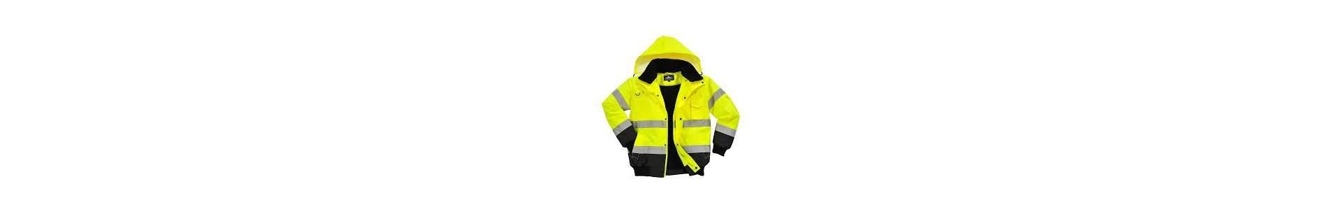 Tiendas Pavo Venta Online de Chalecos y cazadoras de alta visibilidad así como jerseys , forros polares y chalecos.
